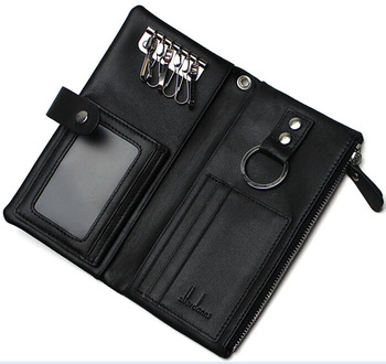 Multifunction High Quality Leather Key Ring Credit Card Holder - Buy Key  Ring Credit Card Holder 675622d523ad