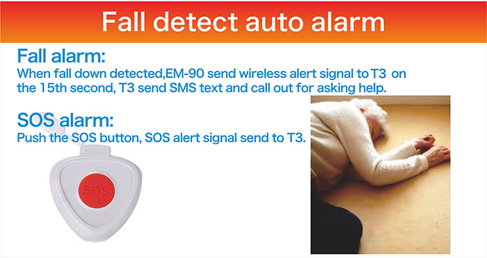 Auto Dialer Gsm Elderly Guarder With Talking Voice Keypad ...