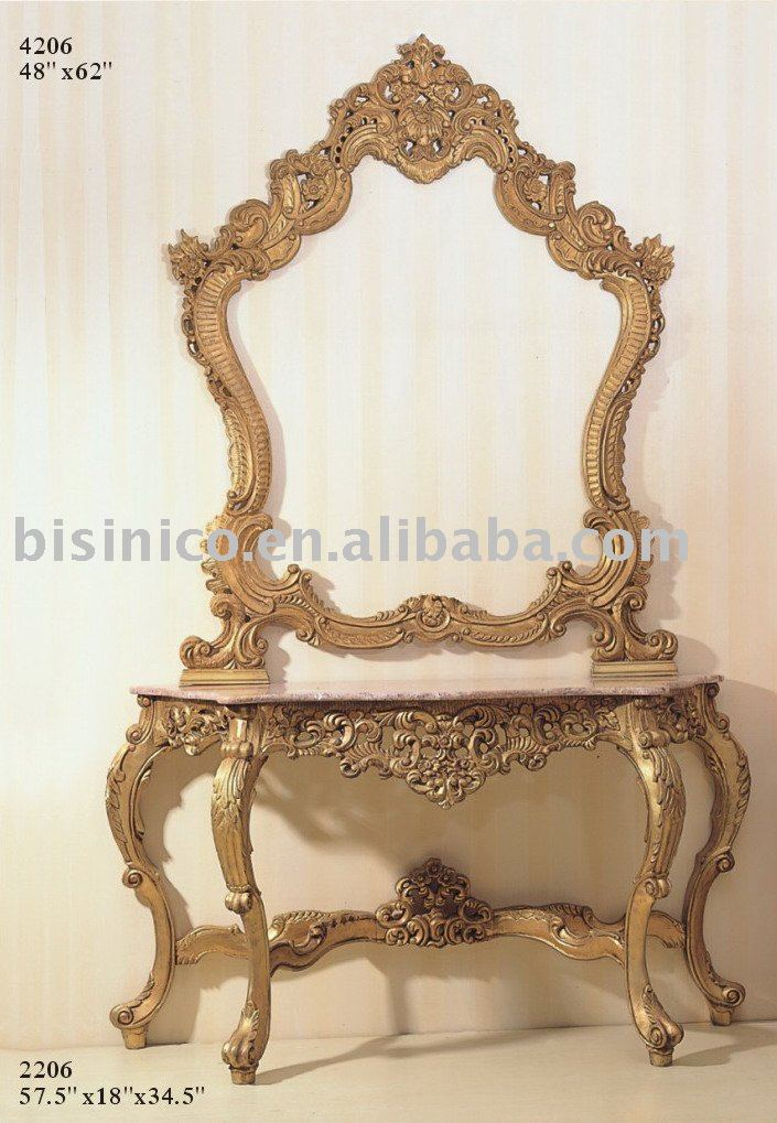 American Solid Wood Console Table And Mirror,Console Table Sets,American  Antique Furniture   Buy Antique Console Table,Console Table Sets,American  Furniture ...