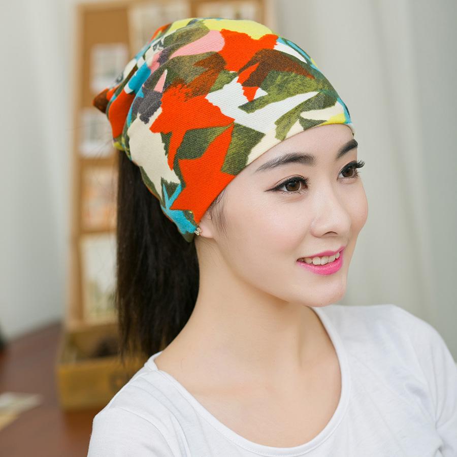 348dfb68f901cd 1PC New Spring & Autumn Women Beanies Girls Caps Graffiti Muiti-Star Female  Beanie Hat
