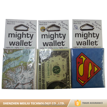 Luxury design custom recycled paper mighty wallet