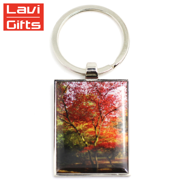 Cheap Custom Blank Epoxy Sublimation Printed Digital Photo Frame Keyrings  Key Chain Keychain 7bc77865d03e
