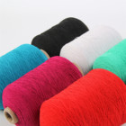 High quality colorful elastic polyester rubber covered yarn for socks Masks Gloves Knitting