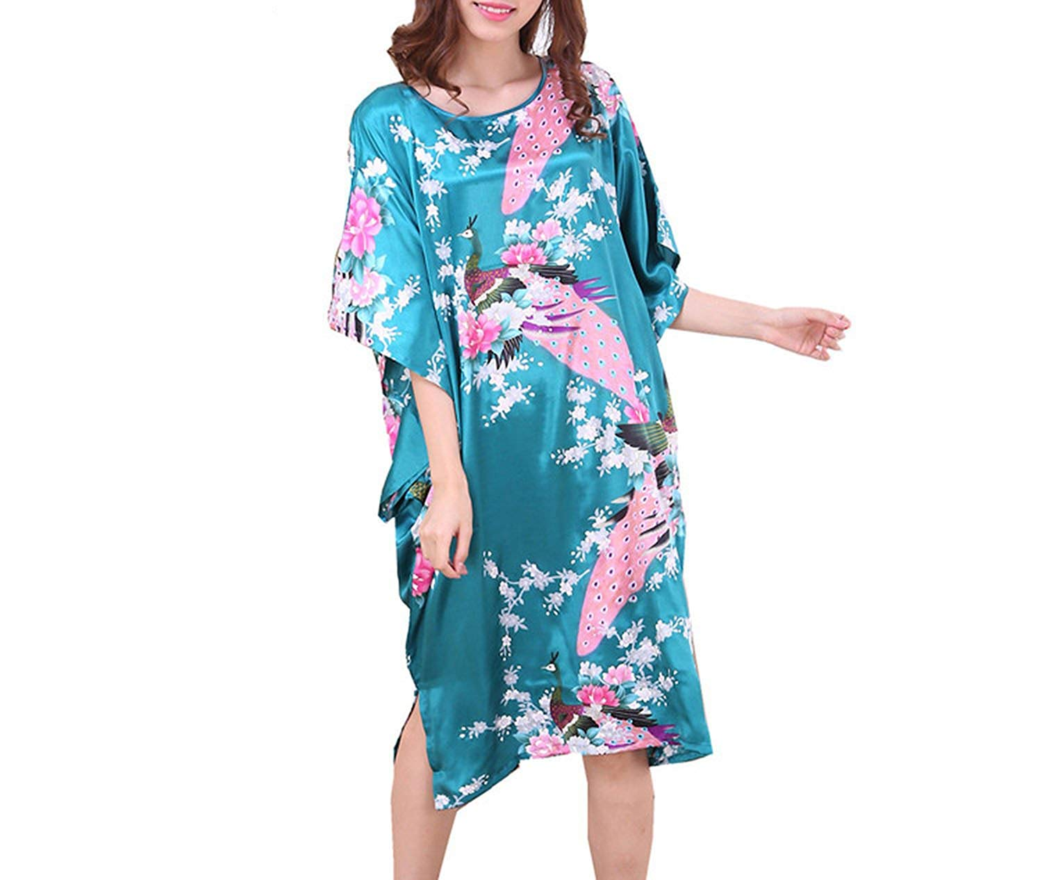 671c35459fc51 Get Quotations · Toping Fine adult-exotic-sleepwear-and-robe-sets Nightdress  Kimono Robe