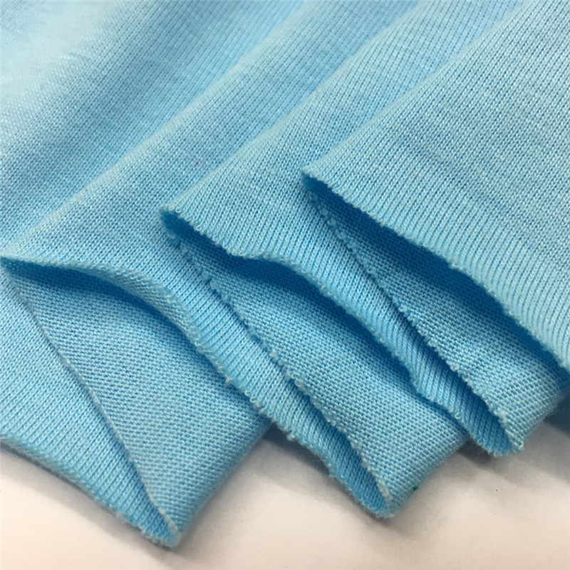 High Quality 40s Single Jersey 100% Cotton Knit Fabric for US and EU Market