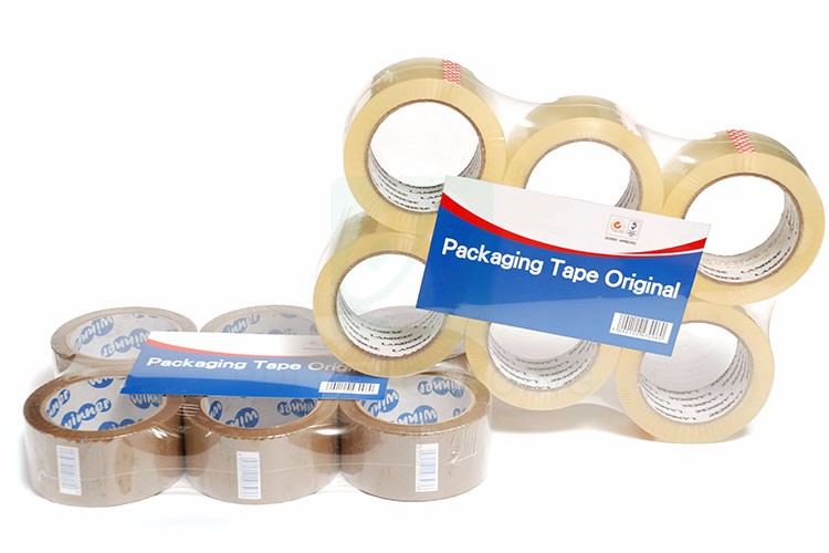 Brown no bubble bopp adhesive packaging tape