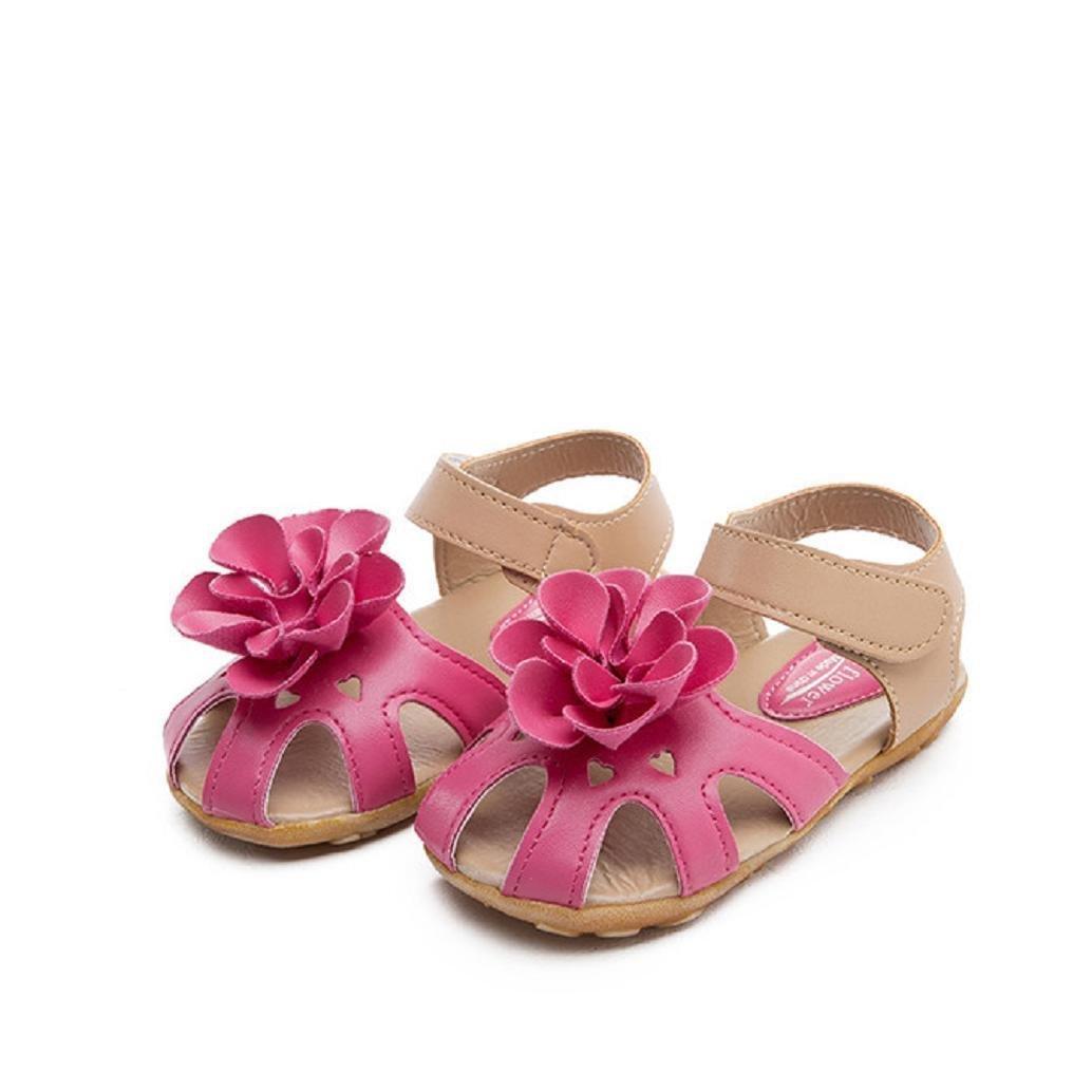5efe982a9f979e AMA(TM) Toddler Kids Girls Summer Flower Sandals Princess Skidproof