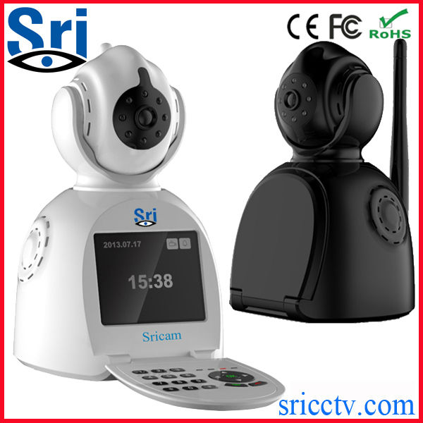 Sricam SP003 64G Microphone Cameras Security Systems Wireless Wifi Motion Activated Security Light Camera