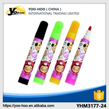 School use colourful refill ink non-toxic water color pen