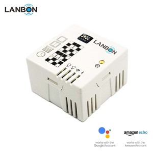 Mini size Lanbon touch switch wifi module transform traditional switch to smart switch wifi support google & amazon