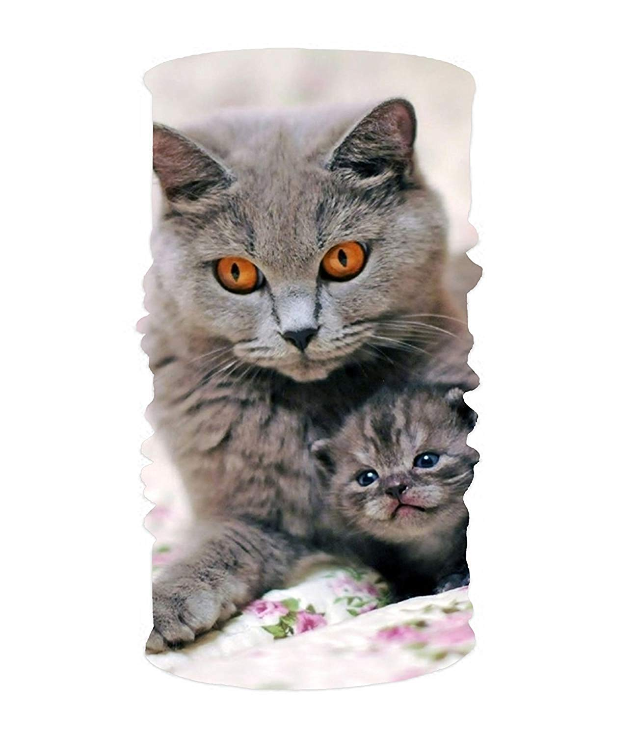 Get Quotations · Gray Cats 16-in-1 Magic Scarf 7784efe283