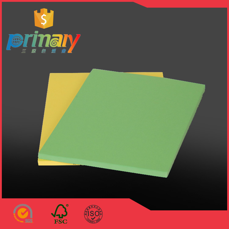 China Top Ten Selling 150gsm Manila Paper Sheet Colored Card Stock Paper