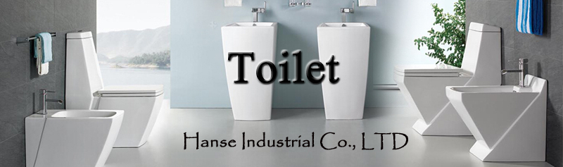 Smooth surface one-piece wash down ceramic toilet molds
