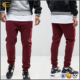 Ecoach wholesale blank jogger pants fashion casual red cheap wholesale sweatpants mens baggy sweatpants sweat pant