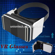 Vr headsets 3D Glasses virtual reality for smart phone,3d vr box,watch movies and games