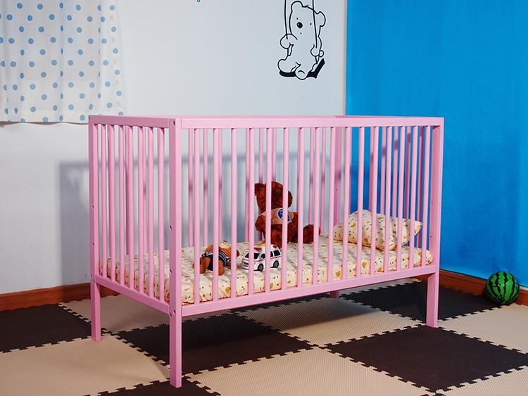 pino cama de beb cunas de madera para bebs