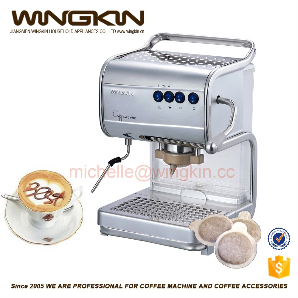 Coffe Machine/Pod Coffee Maker with 44mm not 60mm Pod Size