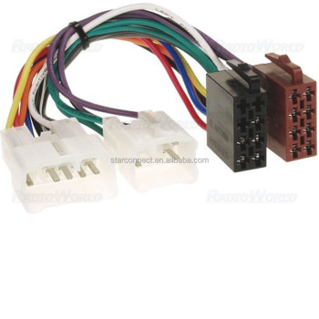 iso car radio stereo cable wire harness adapter wiring connector for rh alibaba com Aftermarket Radio Wiring Harness 1985 Nissan Radio Wiring Harness