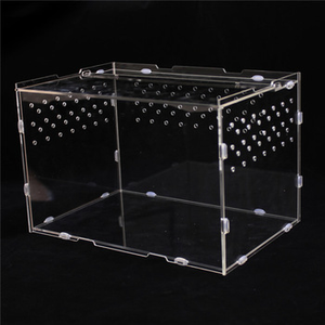 acrylic material wholesale reptile cages for lizard snake box