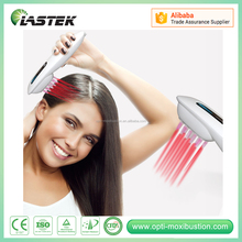 Streamlined Electric handy medical laser hair comb hair and scalp vibrator for hair loss