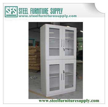 Glass Door Lab CabinetLab Chemical Storage CabinetDrug Storage - Lab storage cabinets