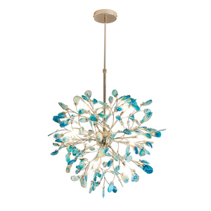 Best Design Luxury Modern Agate Stone Chandelier for Home Decoration