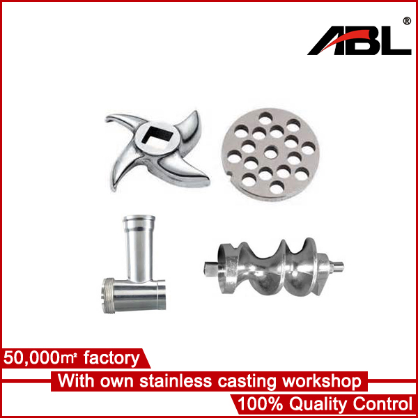 Stainless invesment casting parts for meat mincer 32