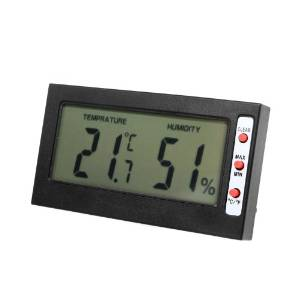 Docooler Digital LCD C/F Thermometer Hygrometer Monitor Max Min Memory Celsius Fahrenheit