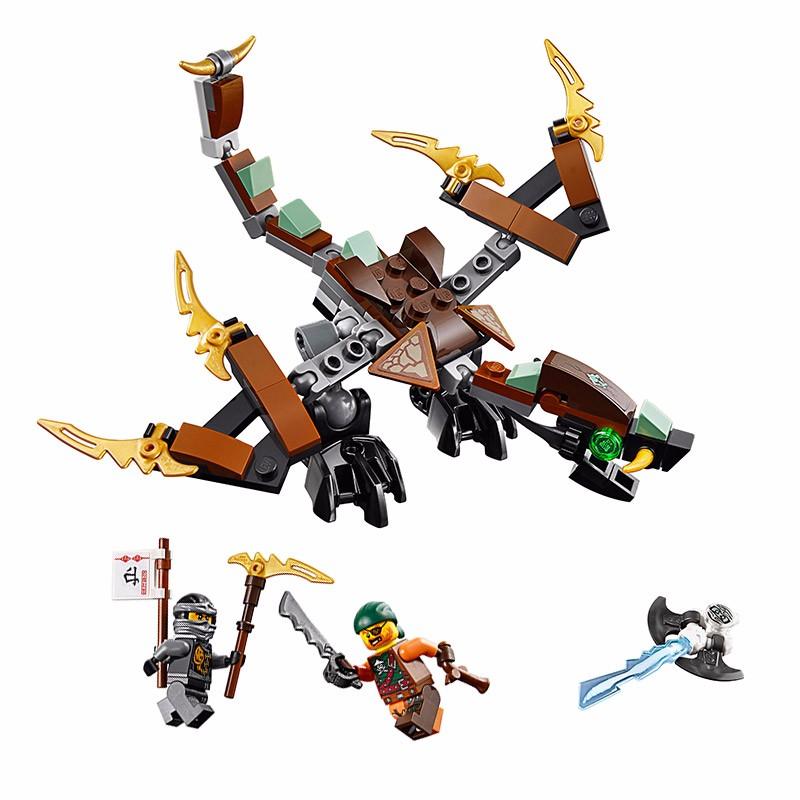 UKLego Cole's Dragon Lepine Building Blocks Toy Set Ninja go Figures Gifts Toy.
