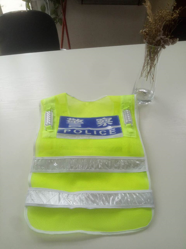 Factory Sale!!! 2017 New Design can be customized led safety vest in China