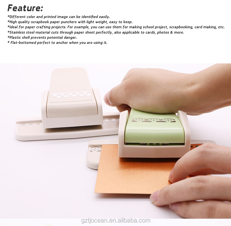 Border Punch Foam Paper Embossing Puncher For Scrapbooking Edge Craft Punch for Scrapbook Cards Making Arts Tools