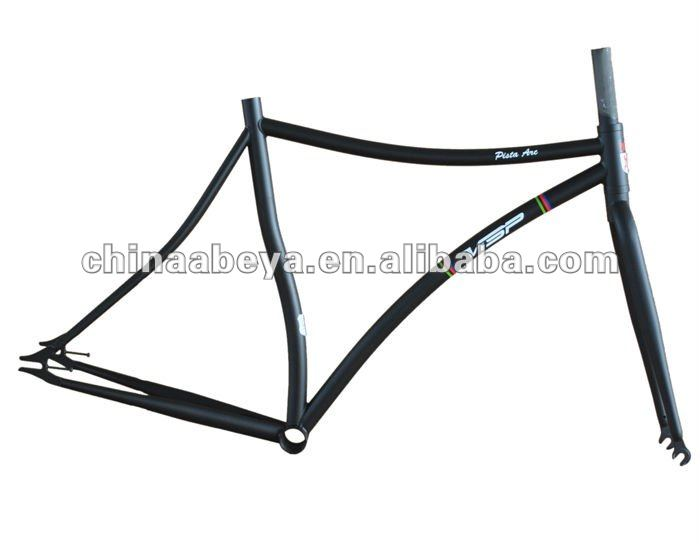 CR-MO TRACK FIXED GEAR, FIXIE FRAME AND FORK