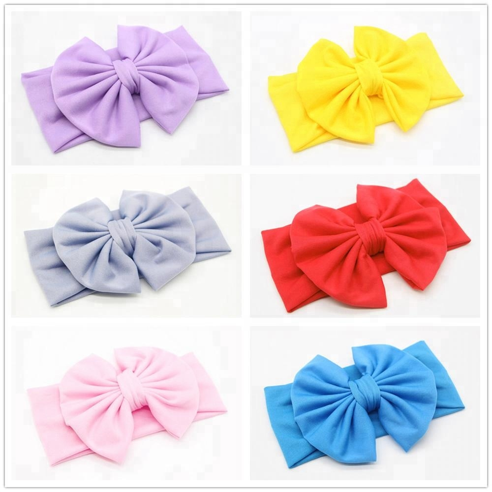 Hot Sale Baby Girls Floral Print Cross Hairband Let Our Commodities Go To The World Baby & Toddler Clothing Baby Accessories