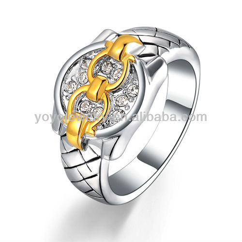 Fashion design hot sale 925 silver ring of the lord of de ring harem jewelry rings