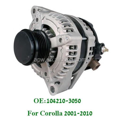 MD rebuilt alternador generador 100 a Toyota Auris corolla 1.4 D