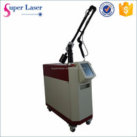 Beauty equipment Q switched nd yag laser tattoo removal machine for remove pigmented nevus