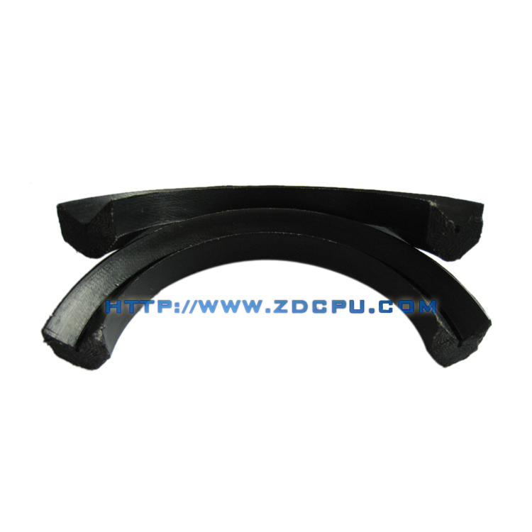 Factory supply oil resistant NBR grooved gasket for pump