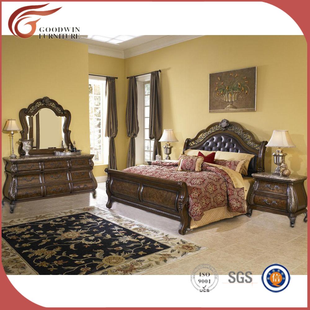 Muebles de dormitorio antiguo conjunto, clásico muebles de ...