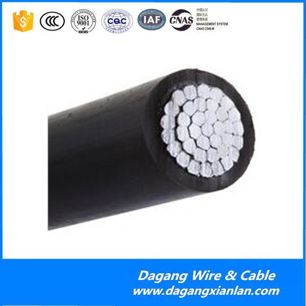 Dagang 0.6/1kV overhead Aerial Bundle cable aluminium 2x35mm2 NFC 2x16 mm2 abc cable sizes