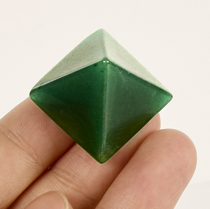 Natural Green Aventurine Christmas quartz crystal pyramid india