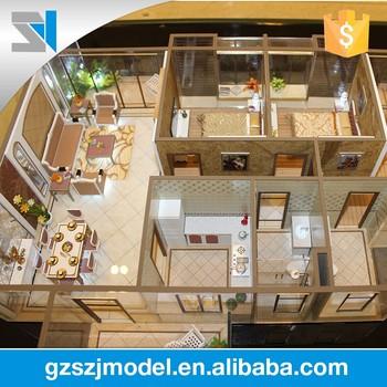 Charming Architektur Design Für Innenraum Haus 3d Max Modell Mit Allen Möbeln