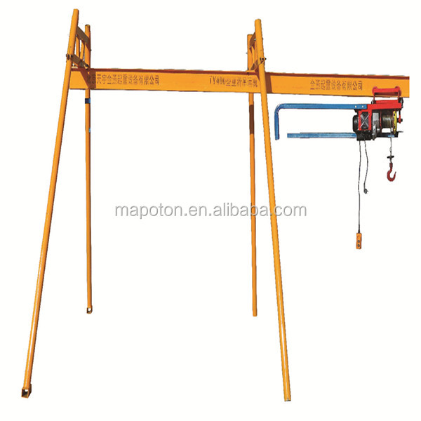 Direct Factory Mini Building Material Lifting Machine Construction Monkey Lift Hoist