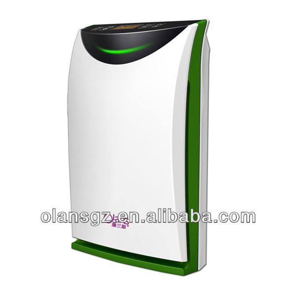 Remove formaldehyde cigarette smoke ionizer air purifier,silent air purifier from china manufacturer