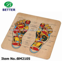 wooden wooden mssager foot reflexology