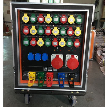 Zjm Customized 3 Phase Distribution Board For Stage Performance ...