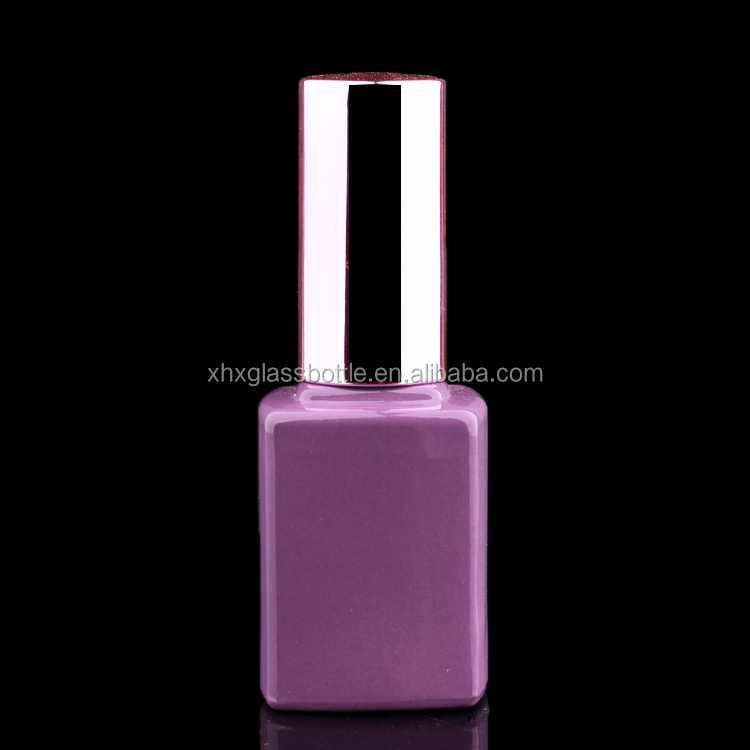 12Ml Square Empty Uv Gel Nail Polish Bottle Wholesale In Guangzhou