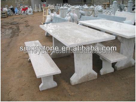 bajo precio mesas y bancos de jardn de piedra
