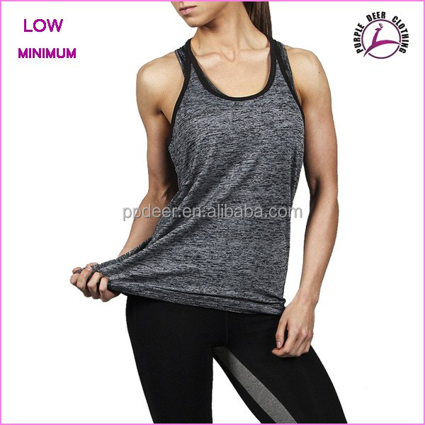 Sports wear tank top women t shirt body building gym shark
