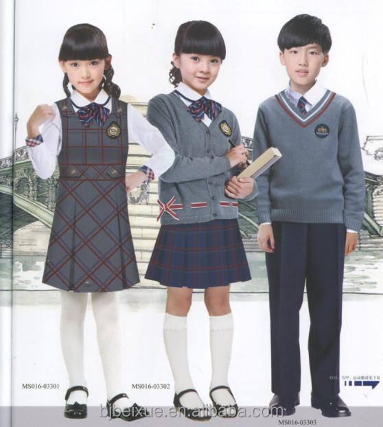 Custom Made School Uniform Brand Uniforms European School