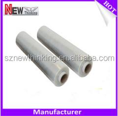 PE stretch Film roll Ldpe strecth film transparent PE plastic stretch film